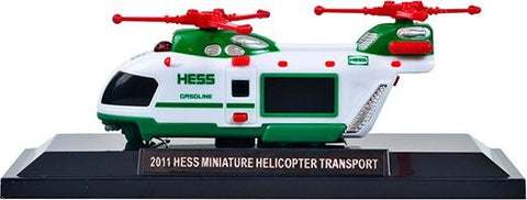 2011 Hess Miniature Helicopter Transport