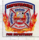 Illinois - Carpentersville Station  2 Fire Dept Patch