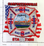 Illinois - Carpentersville Station 91 Fire Dept Patch