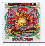 Illinois - Carpentersville Station 93 Fire Dept Patch