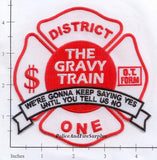 Illinois - Chicago District 1 Fire Dept Patch