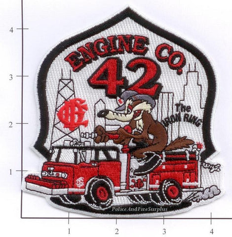 Illinois - Chicago Engine  42 Fire Dept Patch