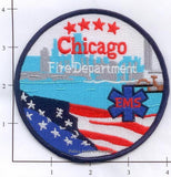 Illinois - Chicago  Fire Dept Patch - New Style
