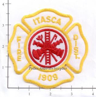 Illinois - Itasca Fire District Fire Dept Patch v1