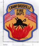 Indiana - Crawfordsville Fire Dept Patch