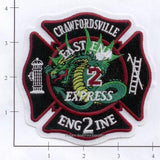 Indiana - Crawfordsville Engine 2 Fire Dept Patch
