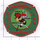 Indiana - Crawfordsville Station 1 Fire Dept Patch