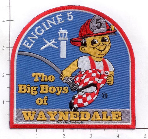 Indiana - Fort Wayne Engine  5 Fire Dept Patch
