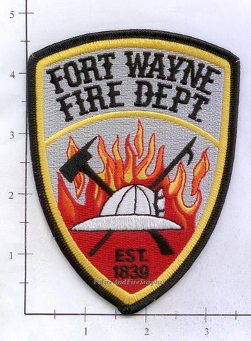 Indiana - Fort Wayne Fire Dept Patch