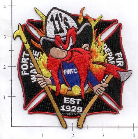 Indiana - Fort Wayne Truck 11 Fire Dept Patch
