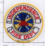 Iowa - Independence Fire Dept Patch