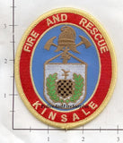 Ireland - Kinsdale Fire & Rescue Patch v2