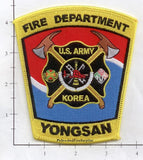 Korea - Yongsan US Army Fire Dept Patch v2