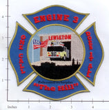 Maine - Lewiston Engine 3 Fire Dept Patch