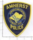 Massachusetts - Amherst Police Dept Patch