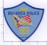 Massachusetts - Billerica Police Dept Patch
