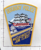 Massachusetts - Duxbury Police Patch