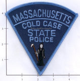 Massachusetts - Massachusetts Cold Case State Police Patch