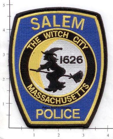 Massachusetts - Salem Police Dept Patch