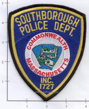 Massachusetts - Southborough Police Dept Patch