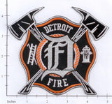 Michigan - Detroit Fire Dept Patch v3