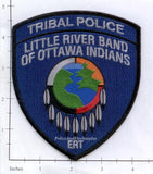 Michigan - Little River Band of Ottawa Indians Tribal Police Dept Patch