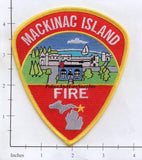 Michigan - Mackinac Island Fire Dept Patch