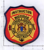 Michigan - Tuscola County Fire Instructor Fire Patch