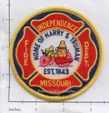 Missouri - Independence Fire Dept Patch