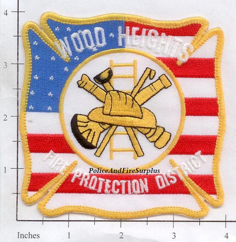 Missouri - Wood-Heights Fire Protection District Dept Patch