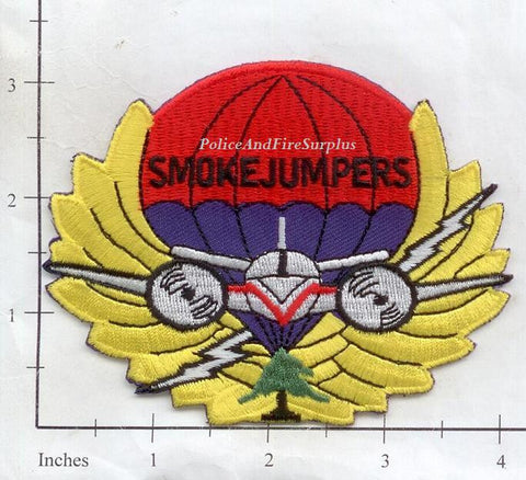 Montana -  Missoula Smoke Jumper Fire Dept Patch
