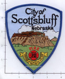 Nebraska - Scottsbluff Fire Dept Patch v1 - Dark Blue Border