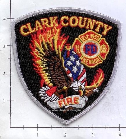 Nevada - Clark County Fire Dept Patch