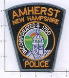 New Hampshire - Amherst Police Dept Patch v1