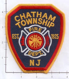 New Jersey - Chatham Township Fire Dept Patch