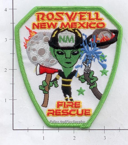 New Mexico - Roswell Fire Rescue Dept Patch
