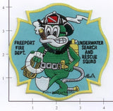 New York - Freeport Underwater Search & Rescue Squad Patch (001)