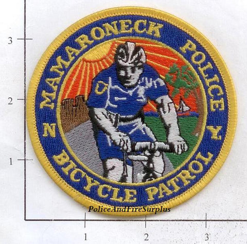 New York - Mamaroneck Police Bicycle Patrol Patch