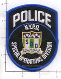 New York - New York City Special Operations Division Police Dept Patch v1