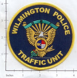 North Carolina - Wilmington Police Traffic Unit Dept Patch