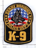 Pennsylvania - Derry Borough K-9 Police Patch