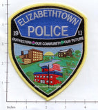 Pennsylvania - Elizabethtown Police Dept Patch v1