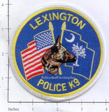South Carolina - Lexington K-9 Police Dept Patch