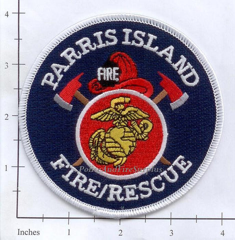 South Carolina - Parris Island Fire Rescue Dept Patch