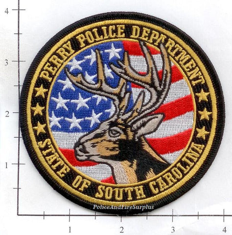 South Carolina - Perry Police Dept Patch v1
