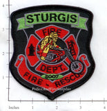 South Dakota - Sturgis Fire Dept Patch