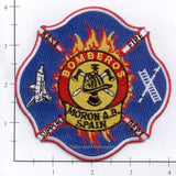Spain - Moron Air Base Fire Dept Patch