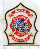 Tennessee - Atoka Fire Rescue Dept Patch