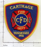 Tennessee - Carthage Fire Dept Patch