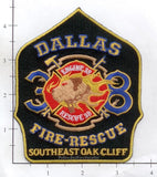 Texas - Dallas Station 38 Fire Dept Patch v2